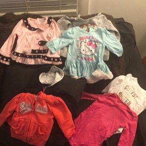 6-9month long sleeve tops